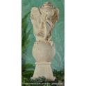 1100-8 Amor kolano piramidka X patyna 31cm