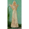 1435-9 Anioł Alicja z gwiazdami ecru 33cm
