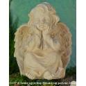 1417-8 Amor zgrzebny Mizantrop patyna 26cm
