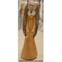 1459-9 Anioł Carola 34cm miedź